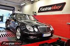 chip tuning mercedes w211 e 220 cdi 170 km kreator mocy