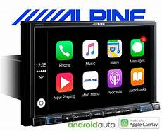 1 din navi alpine autoradio x802d u carplay android usb dab navi