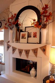 Images Decorating Ideas by Fall Mantel Ideas Autumn Mantle Home Stories A To Z