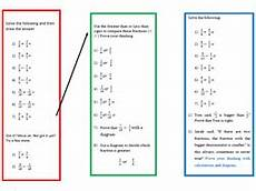 comparing fractions worksheets for grade 6 4261 a worksheet on comparing fractions and adding for year 6 students teaching resources