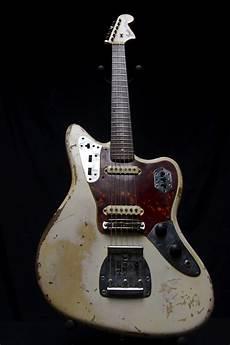 Fender Jaguar Olympic White vintage 1963 fender jaguar guitar olympic white finish no