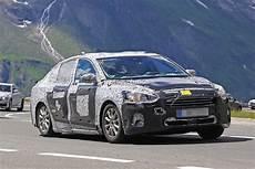 2019 ford focus sedan prototype spied high altitude