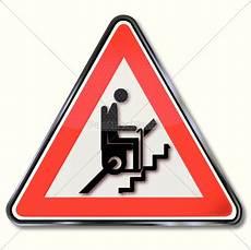 Malvorlagen Verkehrsschilder Xing Schild Achtung Treppenlift F 252 R Rentner Lizenzfreies Bild