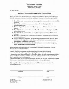 counseling informed consent form template consent forms informed consent counseling