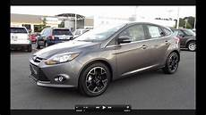 ford titanium 2012 ford focus titanium hatchback start up exhaust and