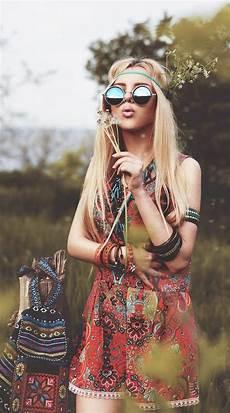 look hippie femme coiffure hippie beaut 233 naturelle de l esprit rebelle