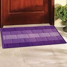 Door Mats Lowest Price by Buy Status Purple Polypropylene Door Mat 15x22 Inch