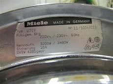 Miele Waschmaschine W719 Startet Mitten Im Programm Motor
