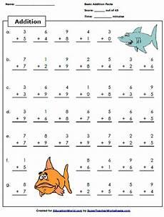teacher math worksheets free super teacher addition worksheet education world