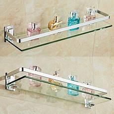 glasregal bad 50cm 60cm badablage glasregal glasboden glasablage bad