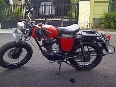 Modifikasi Honda Gl 100 by Modifikasi Motor Honda Gl 100 Keren Dan Unik Otomotiva