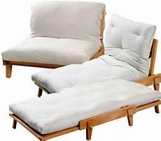 poltrona letto futon poltrona letto yasumi legno ad incastri con futon