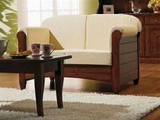 sessel divano lar8 divano rustikales sofa aus holz mit kissen in