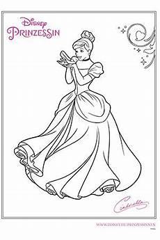 Malvorlagen Arielle Font Disney Prinzessin Cinderella Color My World Disney