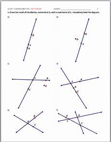 high school geometry common core g srt a 1 dilation properties activities patterson
