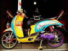 Modifikasi Motor Fino 125 by 21 Modifikasi Yamaha Fino 125 Terupdate