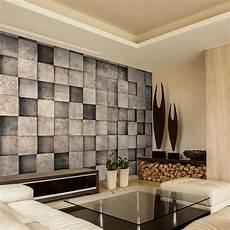 steinwand tapete wohnzimmer vlies fototapete stein steinwand grau 3d effekt tapete