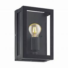 eglo 94831 alamonte 1 ip44 outdoor wall light in black