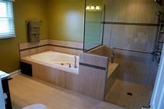 Dusche Und Badewanne Nebeneinander - bathroom remodeling in lancaster ohio keefer contractors