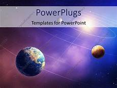 powerpoint template inner four solar system planets furnished by nasa 26748