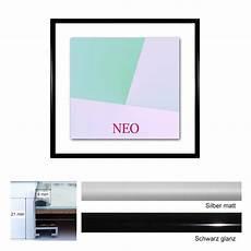 quadratische bilderrahmen quadratischer aluminium bilderrahmen 45x45 cm neo