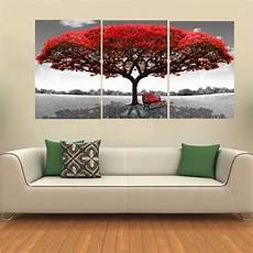 tableau de salon 40x60cm tree modern abstract painting on canvas