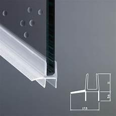 guarnizione doccia guarnizione box doccia con gocciolatoio vetro 6mm ec 848