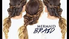 mermaid braid hair tutorial cute hairstyles for medium