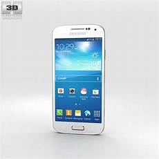 samsung galaxy s4 mini white 3d cgtrader