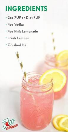 easy adult pink lemonade recipe beverages shakes malts
