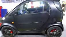 smart fortwo 450 black matte