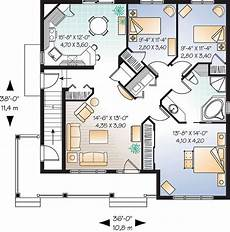 multi family house plans duplex traditional style multi family plan 65338 with 6 bed 2