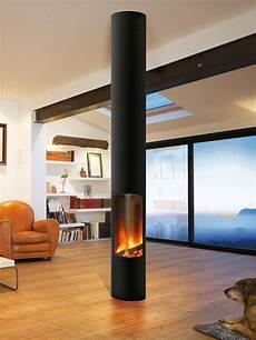Kaminofen Design Modern - holz kamin gas modern geschlossene feuerstelle