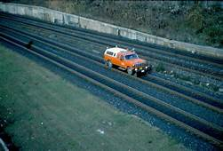 Canadian National Railway Track Inspection Car/Truck At