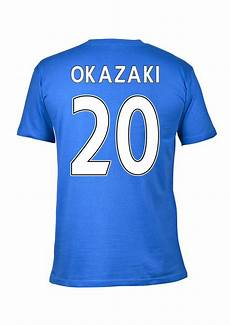 leicester city 2016 premier league chions t shirt okazaki 20 blue tshirtblue 19 64