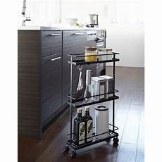 Kitchen Storage Tower yamazaki usa tower rolling kitchen storage cart reviews