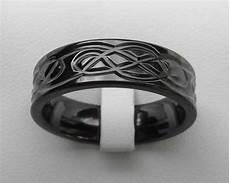 mens black celtic wedding ring love2have in the uk