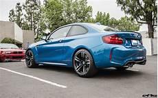 2016 Blue Metallic Bmw M2 Modded By Eas