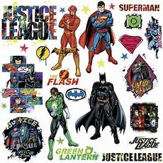 Justice League Wall Stickers