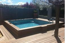 piscine bois hors sol semi enterrée coque piscine semi enterr 233 e zo45 montrealeast