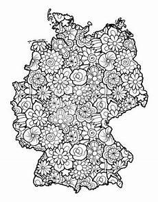 Blumen Malvorlagen Kostenlos Umwandeln Malvorlage Landkarte Deutschland Coloring And Malvorlagan