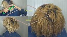 natural hair wash day routine curly hair start to finish 2017 euniycemari youtube