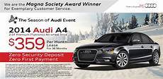 audi a4 lease special lease special audi a4