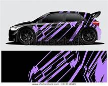 Find Rally Car Decal Graphic Wrap Vector Stock Images In