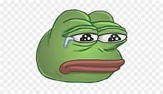 pepe der frosch kermit der frosch sticker trauer frosch