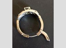 Art Deco ring, adjustable band?