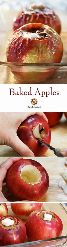 Bratapfel Rezept Klassisch - baked apples recipe apple recipes baked apples fruit
