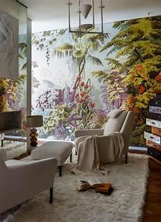 l painted wallpaper de gournay