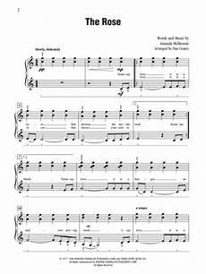 sheet music amanda mcbroom the rose piano solo