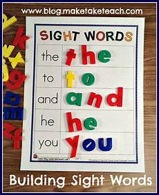 building sight words worksheets 21020 teaching sight words make take teach